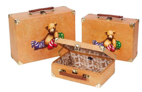 """Набор детских игровых чемоданов  """"Мишки Тедди """", CAUSE."""