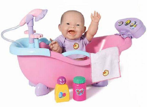 Кукла пупс новорожденный в